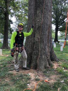 Installing Lightning Protection at Arlington National Cemetery